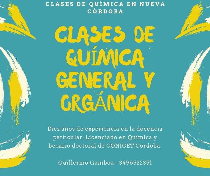 CLASES PARTICULARES DE QUIMICA GENERAL Y ORGANICA