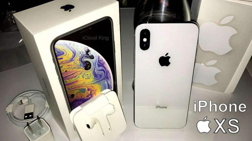 Iphone Xs Max 64 gb-Nuevos/Sellados-Garantia de fabrica