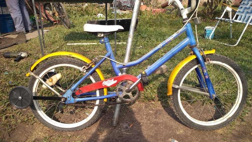 Vendo Bici Rodado 16 en Buen Estado