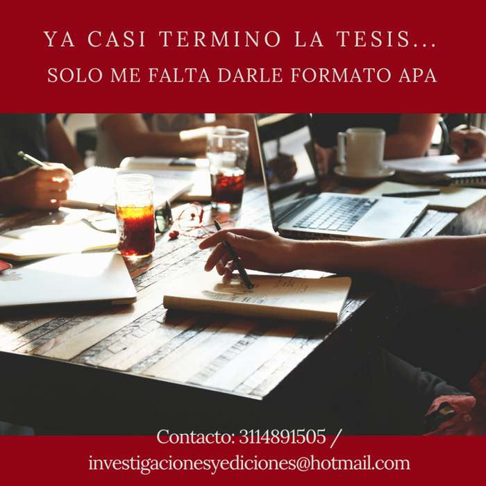 NORMAS APA E ICONTEC PARA TESIS DE GRADO