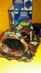 Tronco Ceramica Acuario Peces Mascotas