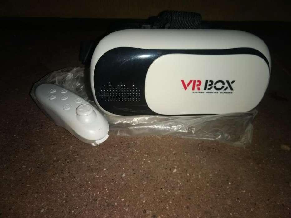 Lentes de Realidad Virtual con Control