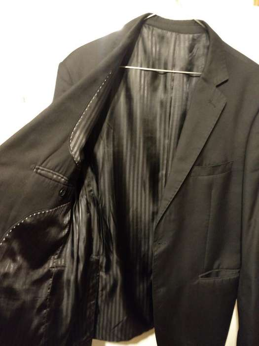 <strong>traje</strong> Negro Talle 48