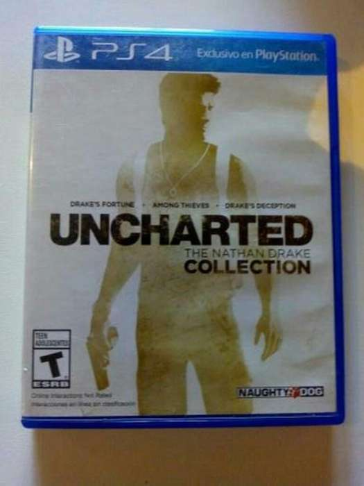 Uncharted Thr Nathan Drake Collection