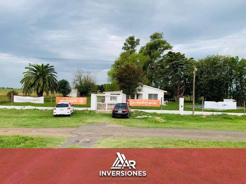 BARRIO RESIDENCIAL ABIERTO - INVERTI EN TU FAMILIA - ECOVIDA - 800 METROS DE FRENTE SOBRE RUTA 18 - TOMAMOS TU