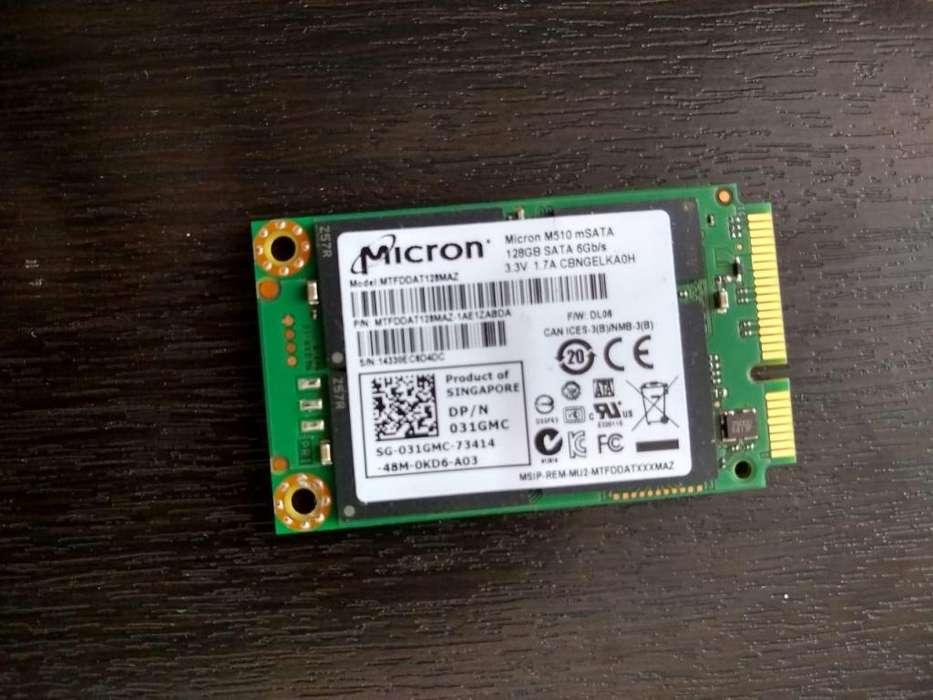 Disco Duro SSD MSata 128 GB Micron