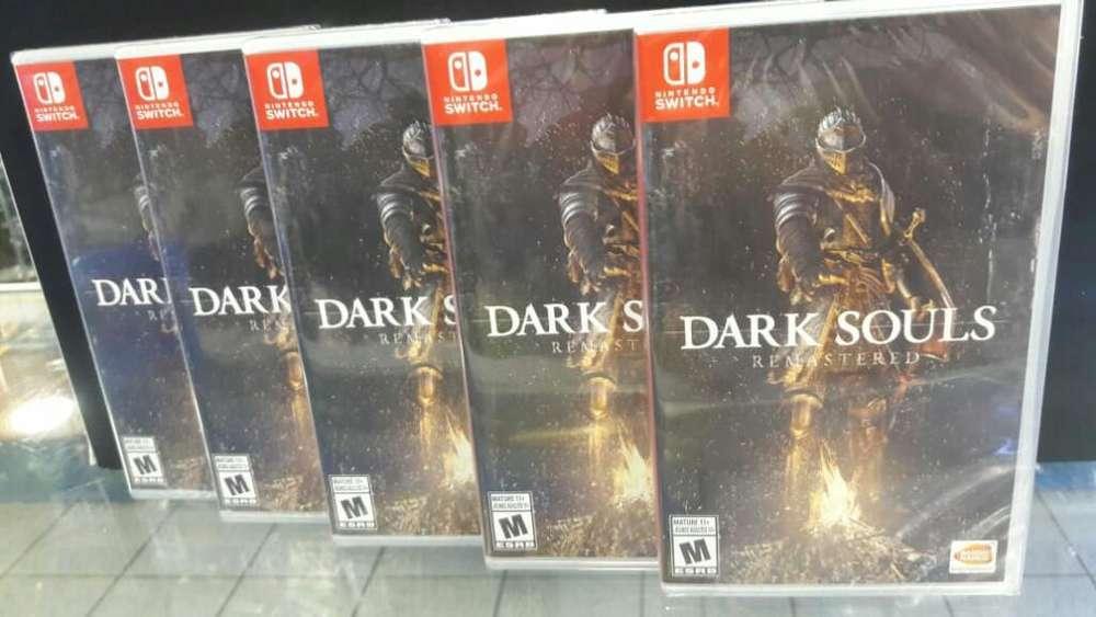 Dark Souls Remastered Nintendo Switch Nuevo Sellado Stock