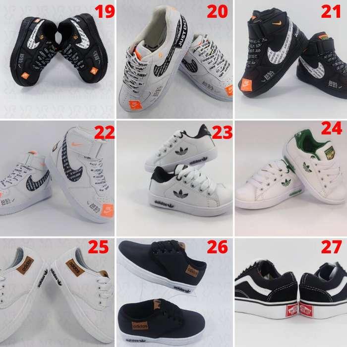 Tenis Zapatillas para Niños y Niñas Obsequio y Envío GRATIS