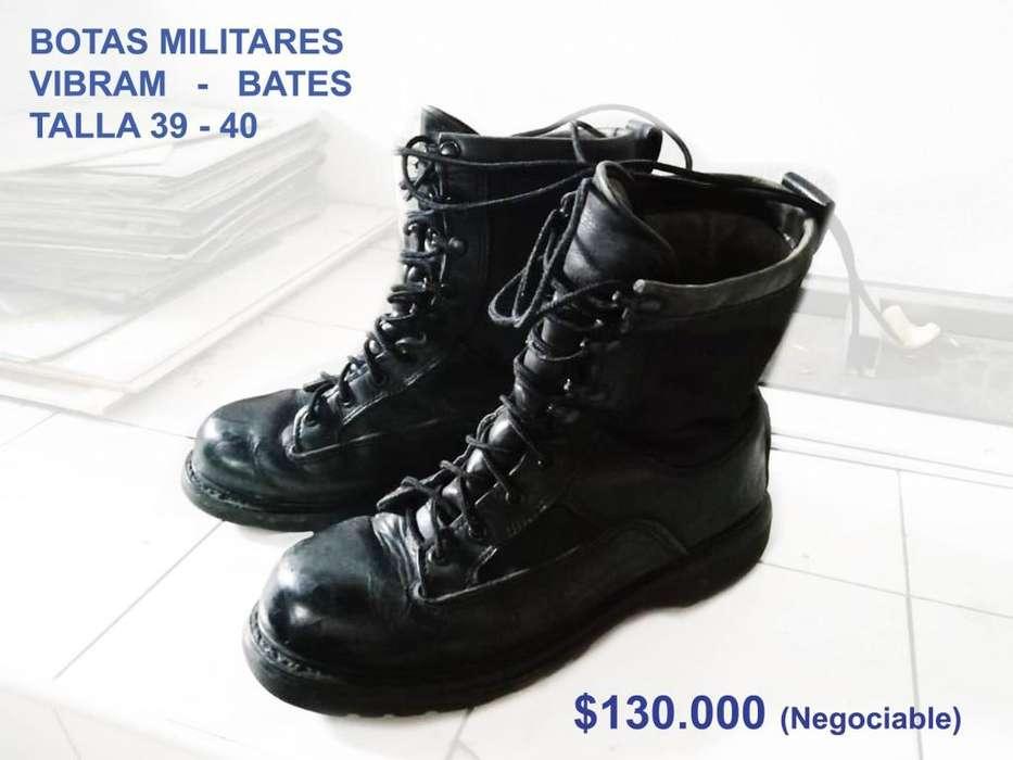 BOTAS MILITARES VIBRAM - BATES TALLA 39 - 40