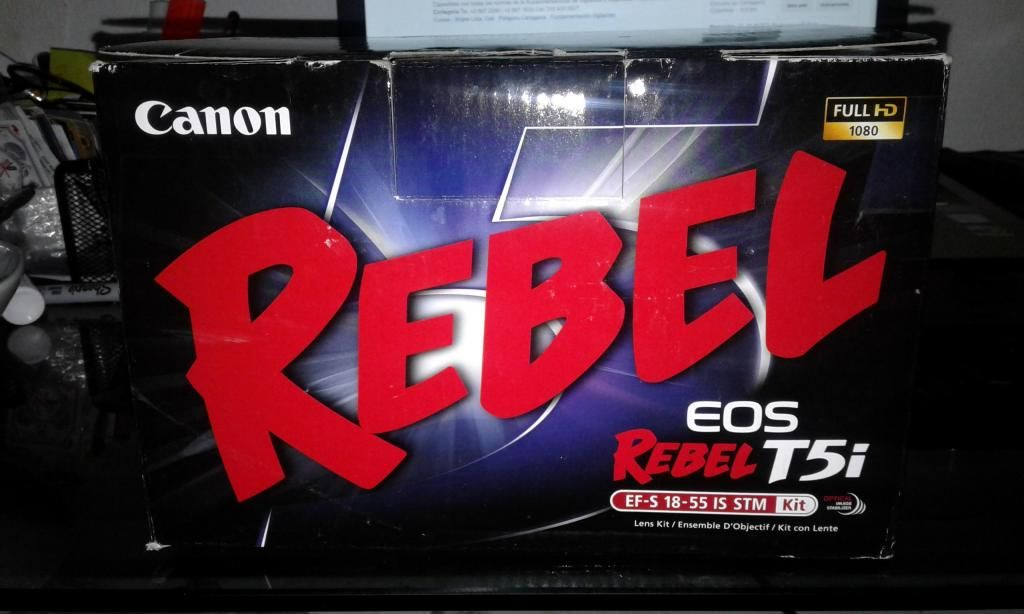Vendo Camara Canon Eos Rebel T5i
