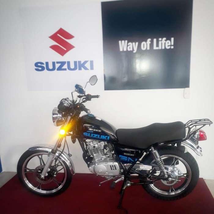 SUZUKI GN 125 MODELO 2020