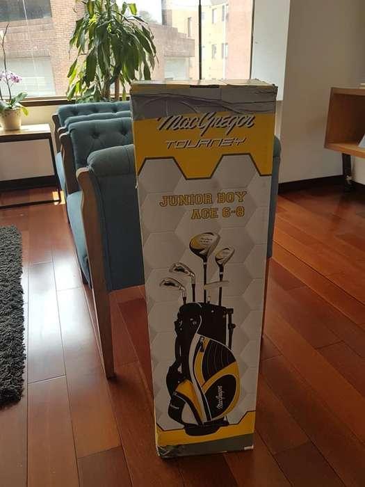 Cómo nuevo equipo de Golf completo marca MacGregor infantil mano derecha