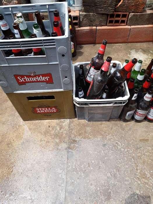 Vendo Cajones de Cervezas Y Envases Suel
