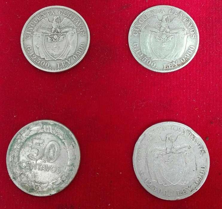 Colección de Monedas de Plata.