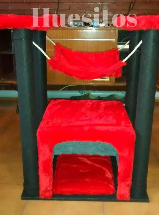 Rascador Trepador Cucha Gym para Gatos