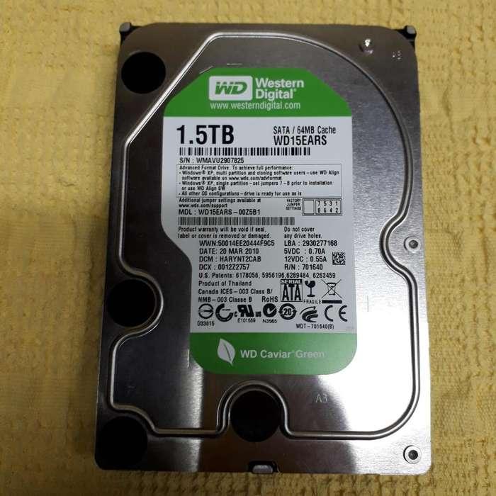 Disco Rígido para PC WD Green 1.5TB