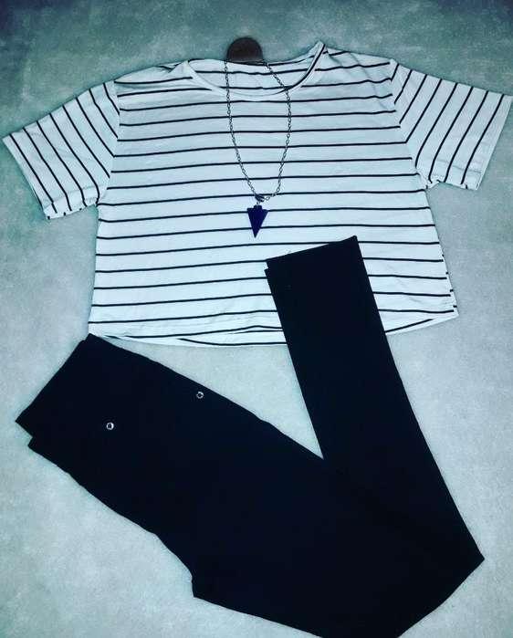 Remera Y Pantalon Nuevos