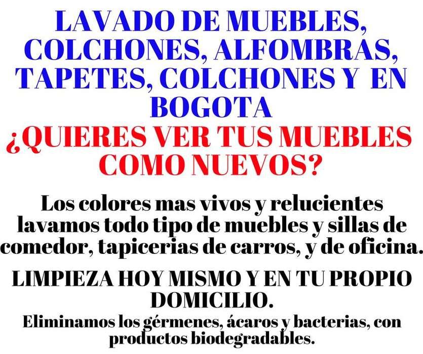 LAVADO DE MUEBLES COLCHONES TAPICERIAS EN BOGOTA 3006095373