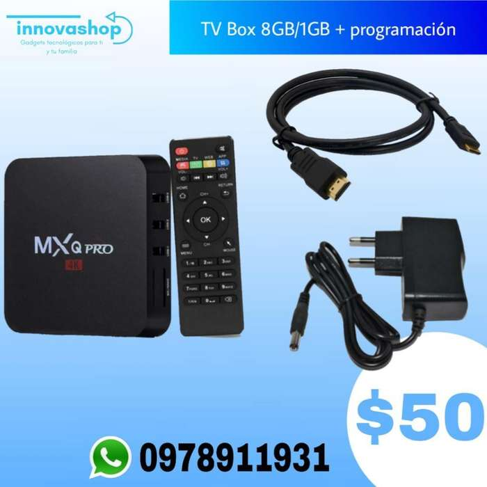 Tv Box 8gb con Programación