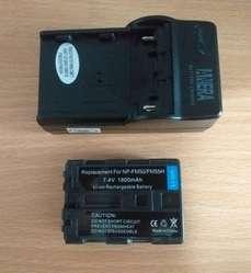 Vendo Bateria  y cargador de  Camara o Filmadora NP FM 50/55H
