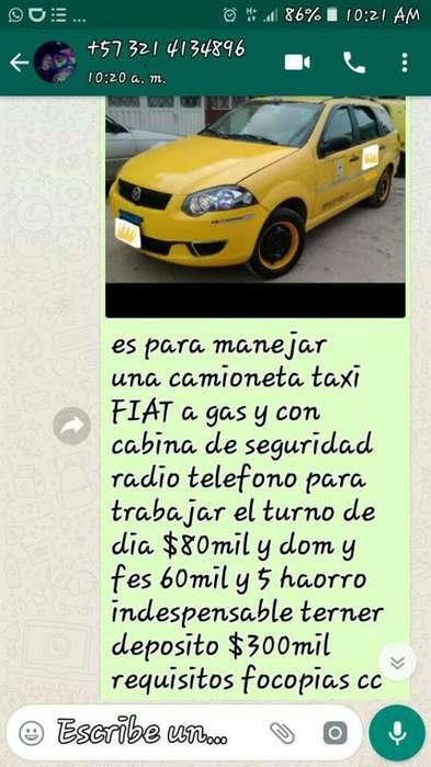 Busco <strong>conductor</strong> Taxi Q Viva Bosa Recreo
