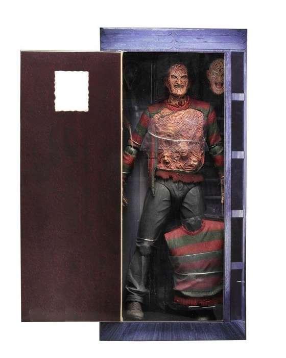 Figura Freddy Krueger 1/4 45cms Neca Terror Elm Street