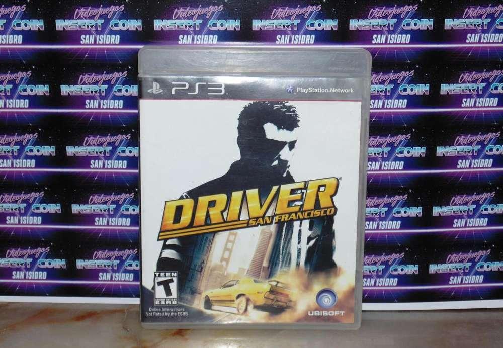Driver PS3 Juego Play Station 3