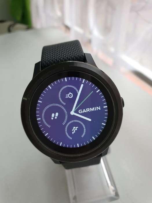 Smartwatch Garmin Vivoactive 3 Hr, Como