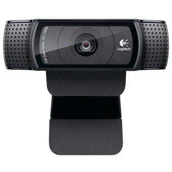 Cámara Webcam C920 Logitech 30FPS USB 2.0Negro