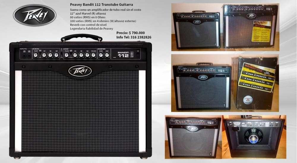 Vendo o Cambio Amp 80 watts Guitarra Peavey Bandit 112 Nuevos!
