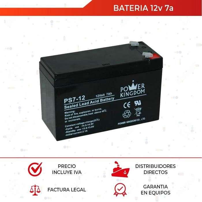 Bateria 12v 7a. Recargable. Ups. Alarma. Cercos. Cctv. Quito. Guayaquil