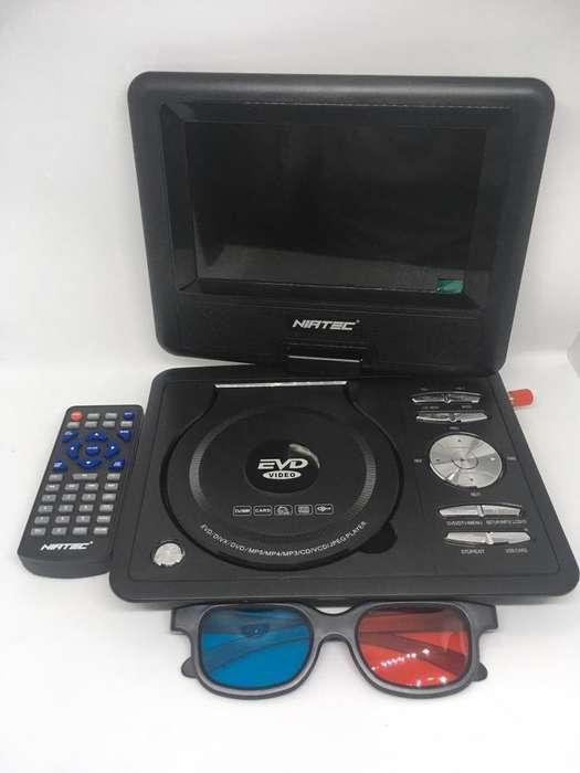 Television y DVD Portable con TDT 7, 9 y 11 pulgadas disponibles