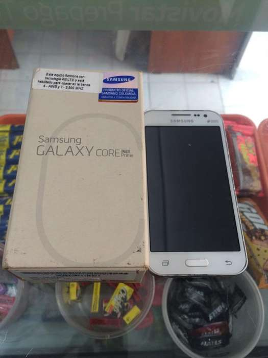 Samsung Core Prime en Caja