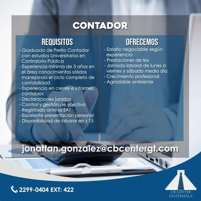 Jefe Contable
