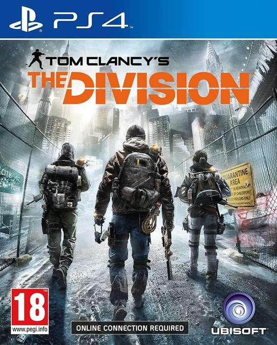THE DIVISION 1 PS4