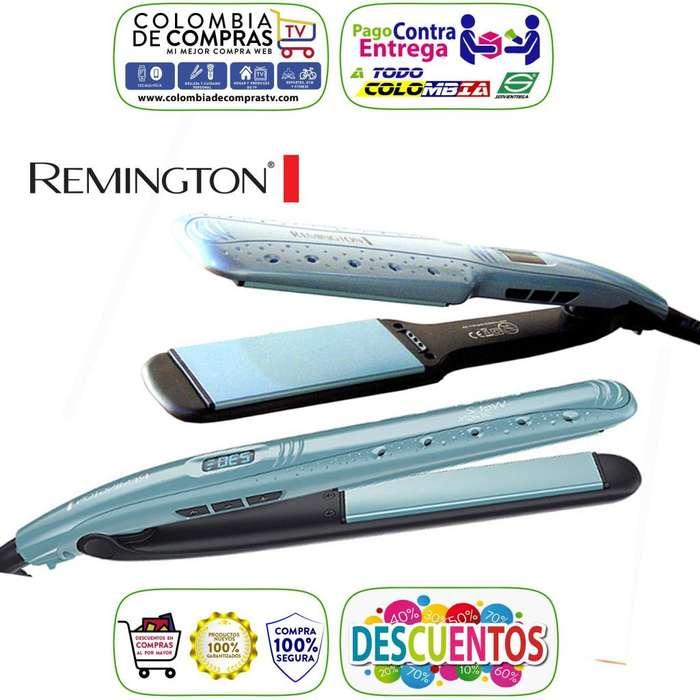 Plancha Cabello Remington Alisa Sobre Mojado Digital, Originales, Nuevas, Garantizadas