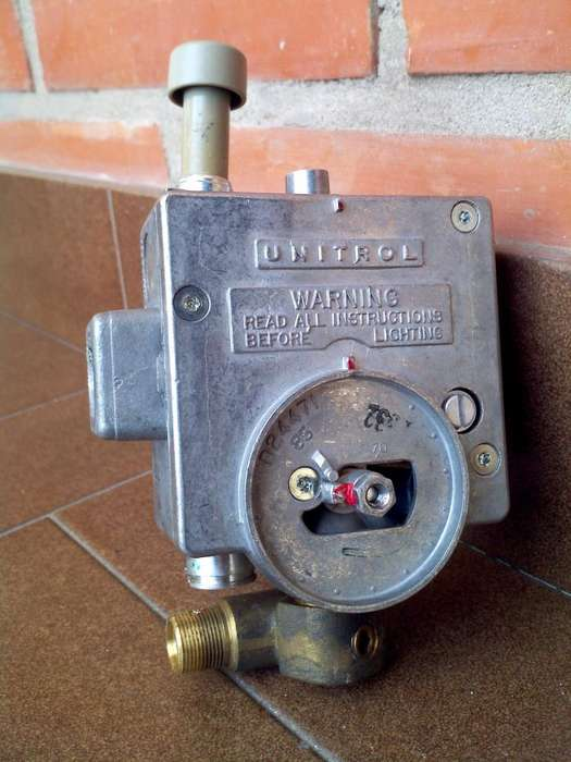 Termostato Y Quemador Termotanque Rheem Unitrol Robert Shaw 160 Lts Original