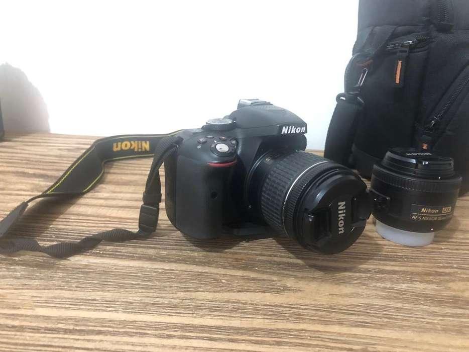 Camara Nikon D5300 maslente