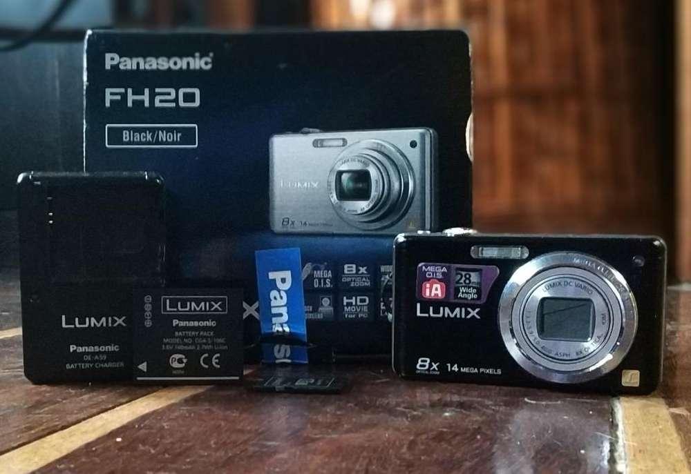 Camara Lumix Panasonic 14mp 8x Memoria 8