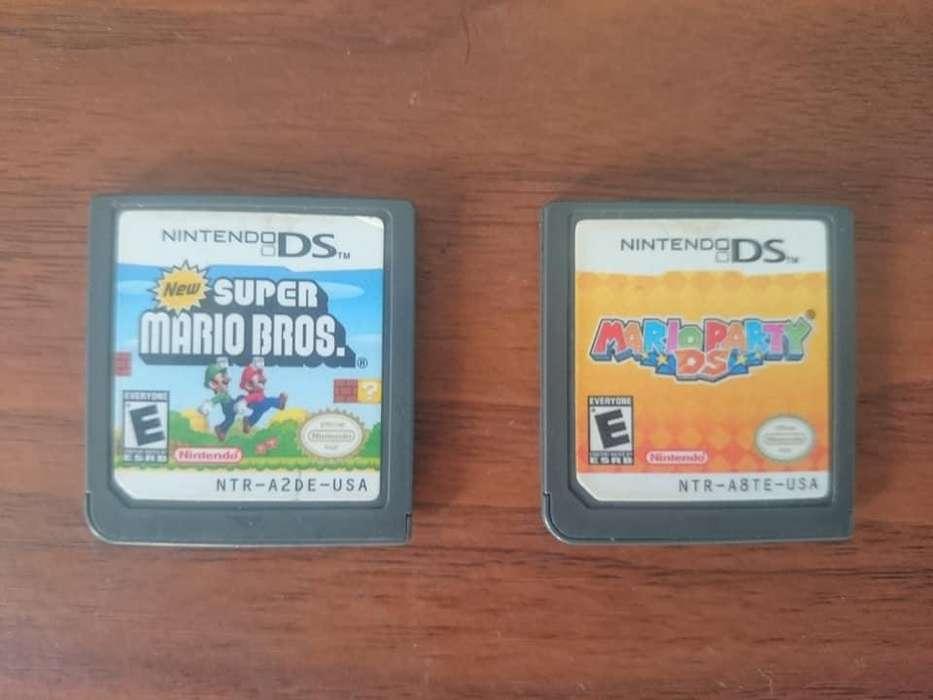 New Super Mario Bros Y Mario Party De Ds