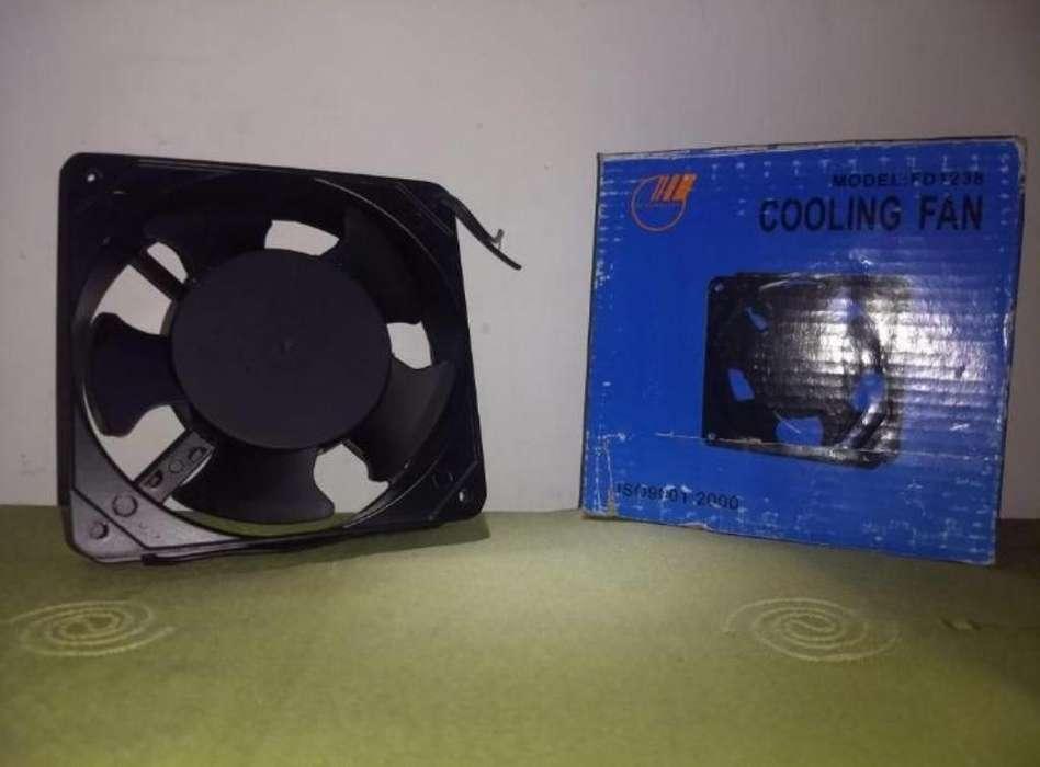 Ventilador Metalico Aspa Platica