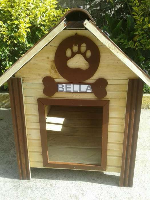 Casa para Perros Cafe