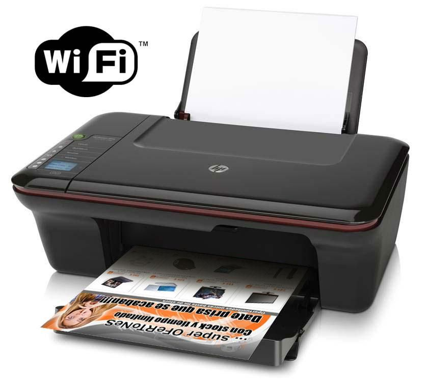 Impresora Escáner Fotocopiadora Multifuncional HP Deskjet 3050