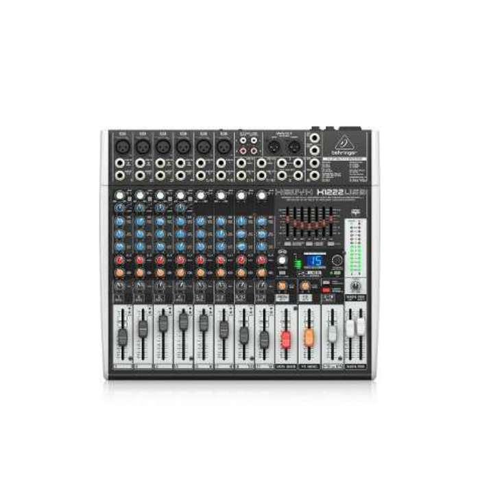 Consola Mezclador Audio Behringer Xenyxx1222usb