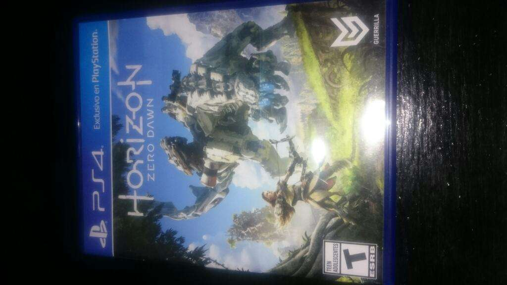 Horizon Zero Dawn Ps4 Fisico