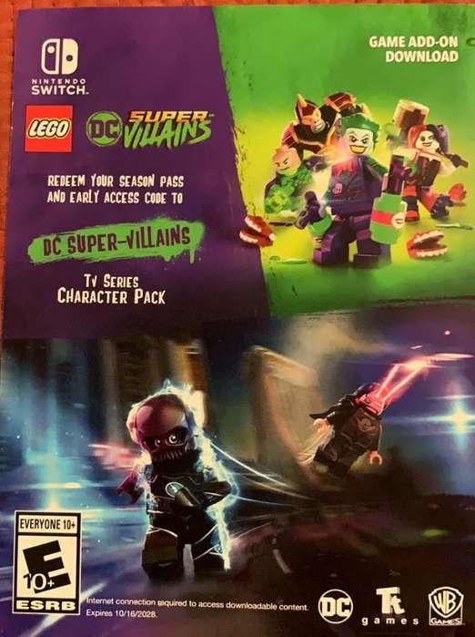 Codigo de Personajes para Lego Nintendo