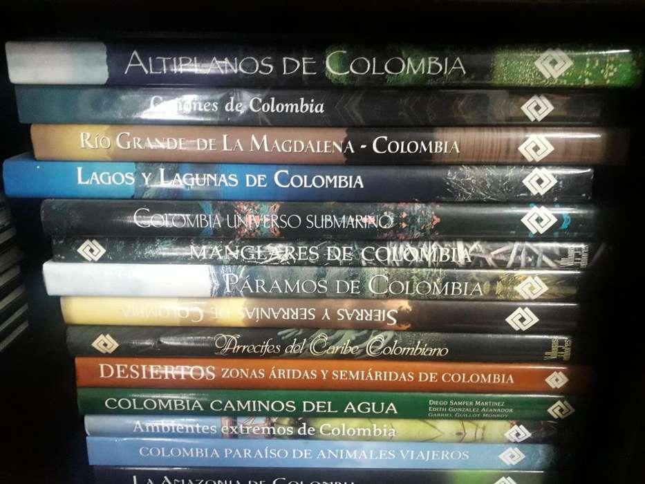 Regiones de Colombia 17 diferentes titulos