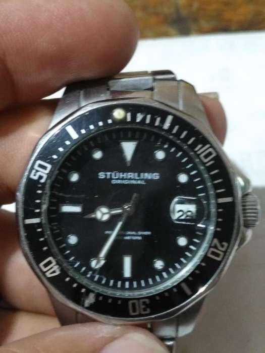 Reloj Stuhrling Original en Acero Barato