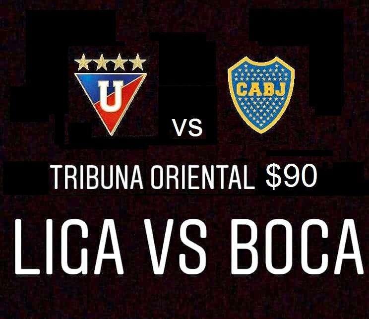 Tribuna Oriental LDU vs Boca .