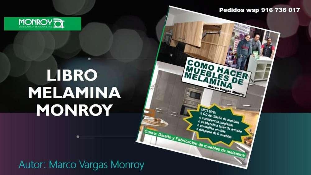 LIBRO DE MELAMINA MONROY; El primero y el mejor
